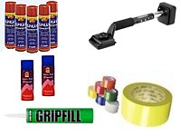 Adhesive, Tape, Stain Remover, Tools