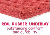 Rubber Carpet Underlay