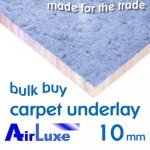 10mm AIRLUXE Carpet Underlay Bulk Buy