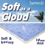 10mm SOFT AS A CLOUD Carpet Underlay