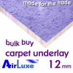 12mm AIRLUXE Carpet Underlay Bulk Buy
