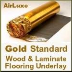 2nds GOLD STANDARD Laminate & Wood Floor Underlay