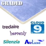 2nds QUALITY 10/11mm TREDAIRE - CLOUD 9 - HEAVENLY - AIRLUXE etc