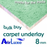 8mm AIRLUXE Carpet Underlay Bulk Buy