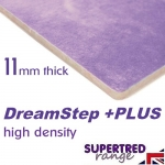 DREAMSTEP PLUS 11mm High Density Carpet Underlay