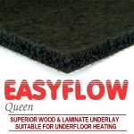 EASYFLOW QUEEN LAMINATE & WOOD UNDERLAY