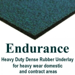 ENDURANCE & TREADMORE 8mm Dense Rubber Underlay
