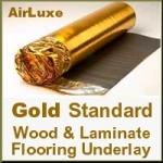 GOLD STANDARD Laminate & Wood Floor Underlay