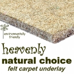 NATURAL CHOICE WOOLBLEND FELT Carpet Underlay