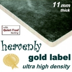 HEAVENLY GOLD 11mm Ultra High Density Carpet Underlay