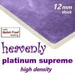HEAVENLY PLATINUM SUPREME 12mm High Density Carpet Underlay