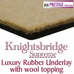 KNIGHTSBRIDGE SUPREME 11mm Rubber & Felt Carpet Underlay