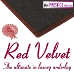 RED VELVET 11mm Rubber & Felt Carpet Underlay