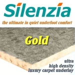 SILENZIA GOLD 11mm Ultra High Density Underlay