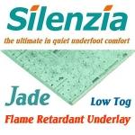 SILENZIA JADE Flame Retardant Underlay