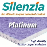 SILENZIA PLATINUM 12mm High Density Carpet Underlay