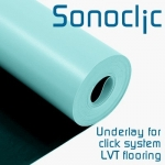 SONOCLIC Underlay for Luxury Vinyl Tiles