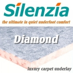 SILENZIA DIAMOND 10mm Luxury Carpet Underlay